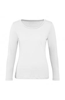 T-shirt longsleeve dames (geschikt voor digitale druk van uw ontwerp via de design tool)
