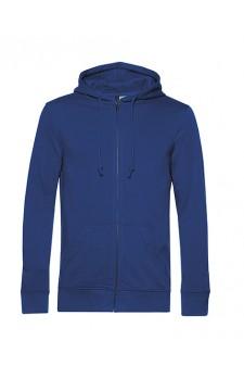 Hooded sweat jacket full zip heren /unisex (geschikt voor digitale druk van uw ontwerp via de design tool)