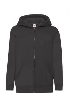 Hooded sweat jacket full zip kids (geschikt voor digitale druk van uw ontwerp via de design tool)